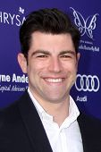 LOS ANGELES - JUN 7:  Max Greenfield at the 13th Annual Chrysalis Butterfly Ball at Private Mandevil