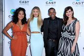 LOS ANGELES - MAY 29:  Chloe Flower, AnnaLynne McCord, Hill Harper, Sara Rue at the 16th Annual From