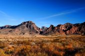 Image Of Mountains In Big Bend, Texas