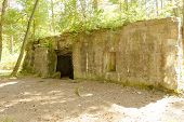 Bunker Of World War 1 In Flanders Fields