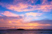 Sunset Over Gili Trawangan, Indonesia.