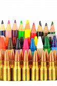Bullets And Crayons