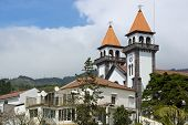 Church In Furnas Of Sao Miguel