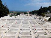 LORETTO, VATICAN - April 26, 2014: Polish War Cemetery In Loreto, Itraly