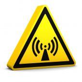 Non Ionising Radiation Sign
