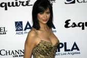 Catherine Bell on the red carpet.
