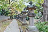 stock photo of shogun  - Toshogu Shrine at Ueno Park in Tokyo - JPG
