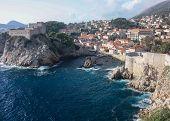 Fort Lovrijenac and Dubrovnik Wall