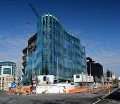151 Cambridge Terrace Office Building Nears Completion