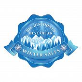 Winter Sales Stamp for print