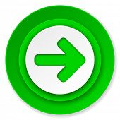 right arrow icon, arrow sign