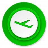 deparures icon, plane sign