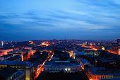 Russia. Rostov-on-don. Evening Cityscape