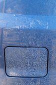 Car Petrol Lid Close-up
