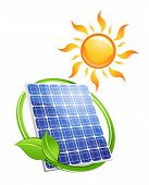 Sustainable solar energy concept