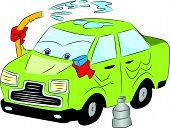 Vector Of Car Wash.