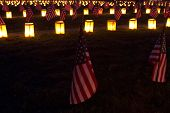 Flags At Gettysburg Luminary