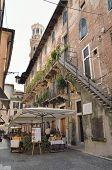 Outdoor Restaurant In Verona