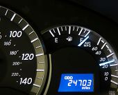 Full Gauge On Modern Dashboard