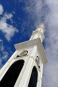 Heavenward Minaret Mosque. Astana Kazakhstan.