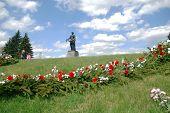 St.Petersburg Russland kann 9 Piskarjowskoje Friedhof