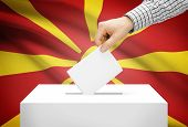 image of macedonia  - Voting concept  - JPG
