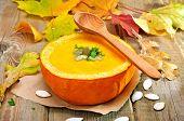 Vegetarian Pumpkin Cream Soup