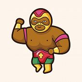������, ������: Wrestler Theme Elements