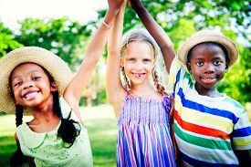 image of diversity  - Diversity Children Childhood Friendship Cheerful Concept - JPG