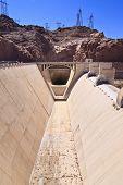 Hoover Dam Spillway