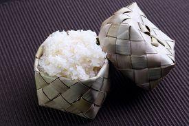 stock photo of rice  - Sticky rice  - JPG