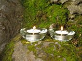Spa Candles On The Rock - Aromatherapy