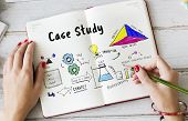 Information Case Study Research Verification Analysis Sketch poster