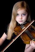 Learning To Play  A Violin.