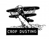 stock photo of pest control  - Crop Duster  - JPG