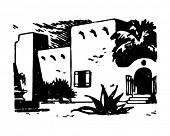 picture of hacienda  - Adobe Hacienda  - JPG