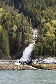 Waterfall Near Skagway Alaska