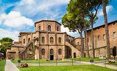 Famous Basilica Di San Vitale In Ravenna, Italy poster