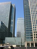 stock photo of hsbc  - Canary Wharf  - JPG