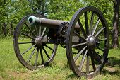 Civil War Cannon At Pulaski Arkansas Battery