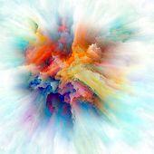 Advance Of Color Splash Explosion poster