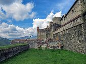 Fort Lagarde, Prats-de-mollo-la-preste: The Fort Was Constructed In Several Stages Around An Old Med poster