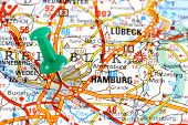 Hamburg On Map