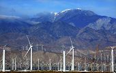 Wind Turbines Coachella Valley Palm Springs California