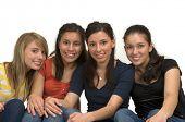 foto of happy kids  - Diverse group of happy friends - JPG