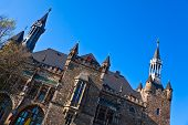 Townhall In Aachen, Germany.