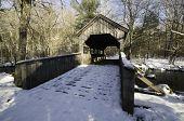 Covered Bridge On Footpath