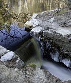 Spillway In Destruction Brook