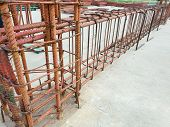 Using Steel Wire For Securing Steel Bars With Wire Rod For Reinforcement, Steel Reinforcement In The poster