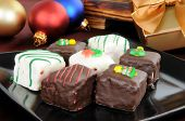 Petite Fours At Christmas